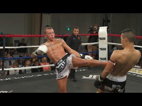 Muay Thai - Chris vs Jordan - Rebellion Muay Thai 13, Melbourne, Australia