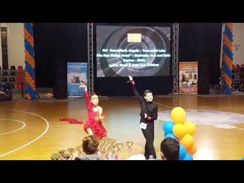 Dance Studio Expose Bitola - Latino Show Duo Children - Macedonia Open 2016 ®