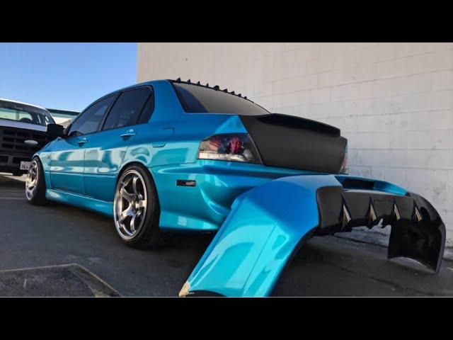 installing-my-jdm-rear-bumper-on-the-evo-9