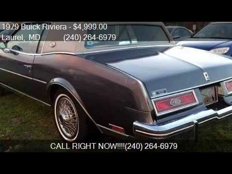 1979 buick riviera base for sale in laurel md 20707 at for Route 1 motors inc laurel md