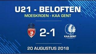 🐺U21 Moeskroen - KAA Gent: 2-1