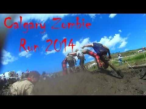 Calgary Zombie Run 2014