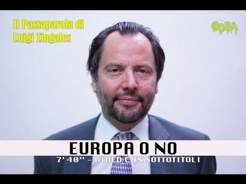 Zingales Luigi - Europa o no