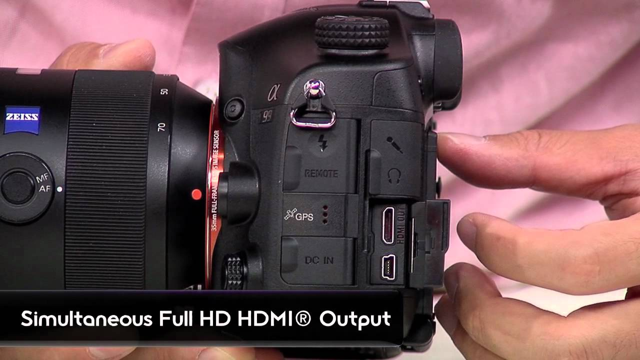Sony a99 mk ii overview tutorial youtube.