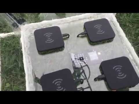 Solar Powered Fully Autonomous Wireless Charging for Drones