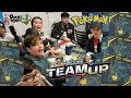 THE BIGGEST NEW POKEMON CARD LAUNCH PARTY EVER   HUGE TEAM UP ELITE TRAINER BOX BATTLE