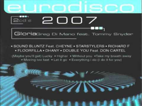 1.- Dhany - Let it Go(EURODISCO 2007) CD-2