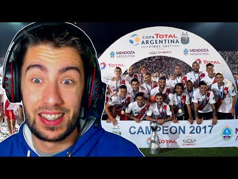 RIVER CAMPEON COPA ARGENTINA 2017!! GOLES Y FESTEJOS | ElShowDeJota