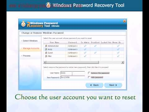how to turn on laptop if forgotten password