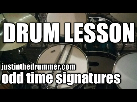 drum lesson how to play odd time signatures easily youtube. Black Bedroom Furniture Sets. Home Design Ideas