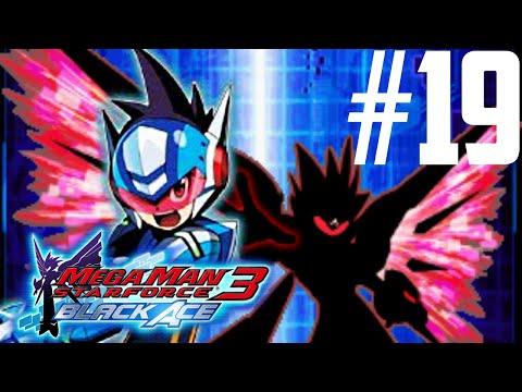 Mega Man Star Force 3: Black Ace Part 19 - Attack on WAZA HQ [HD]