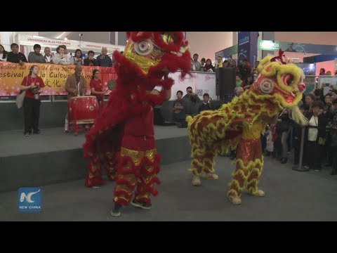 Chinese cultural demonstrations impact on Lima International Book Fair