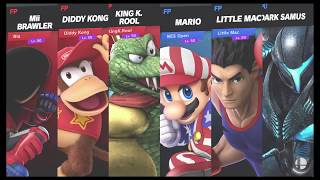 Super Smash Bros Ultimate Amiibo Fights   Request #7813 Shadow Moses Team Smash