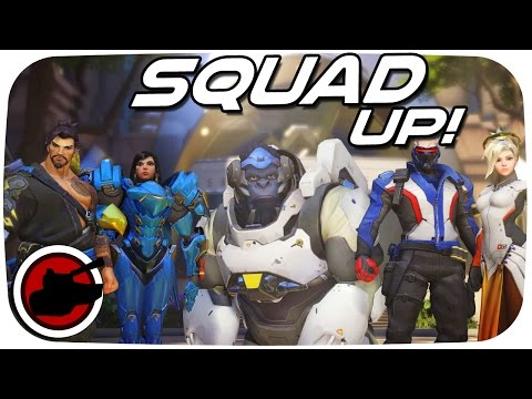 Overwatch PVP ✠ SQUAD UP! ✠ Overwatch Multiplayer Gameplay