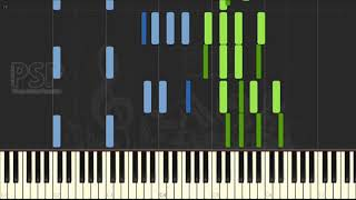 [ Piano Solo Tutorial ] George Gershwin - The Man I Love (synthesia classical)