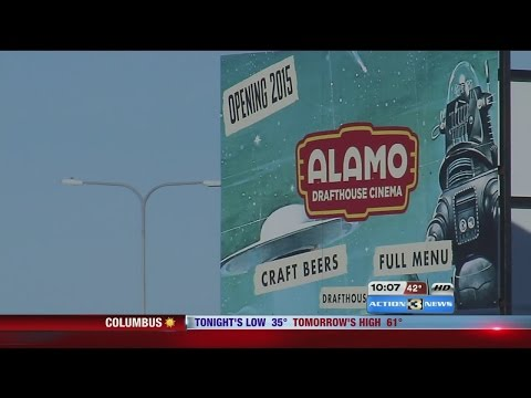 8 screen movie theater, bar and restaurant goes up in La Vista