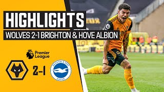 TRAORE & GIBBS-WHITE LIGHT UP MOLINEUX! Wolves 2-1 Brighton & Hove Albion | Highlights