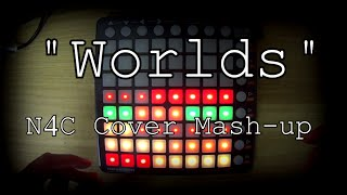 "Porter Robinson ""Worlds"" - Launchpad Album Mash-up [Lightshow]"