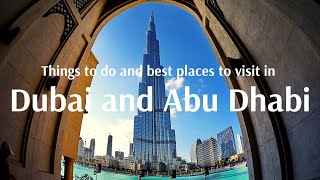 Things to do and best places to visit in Dubai - Flamingo Travels