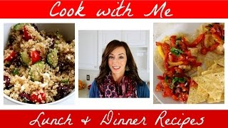 Cook with Me  New Lunch Recipe & Easy Dinner