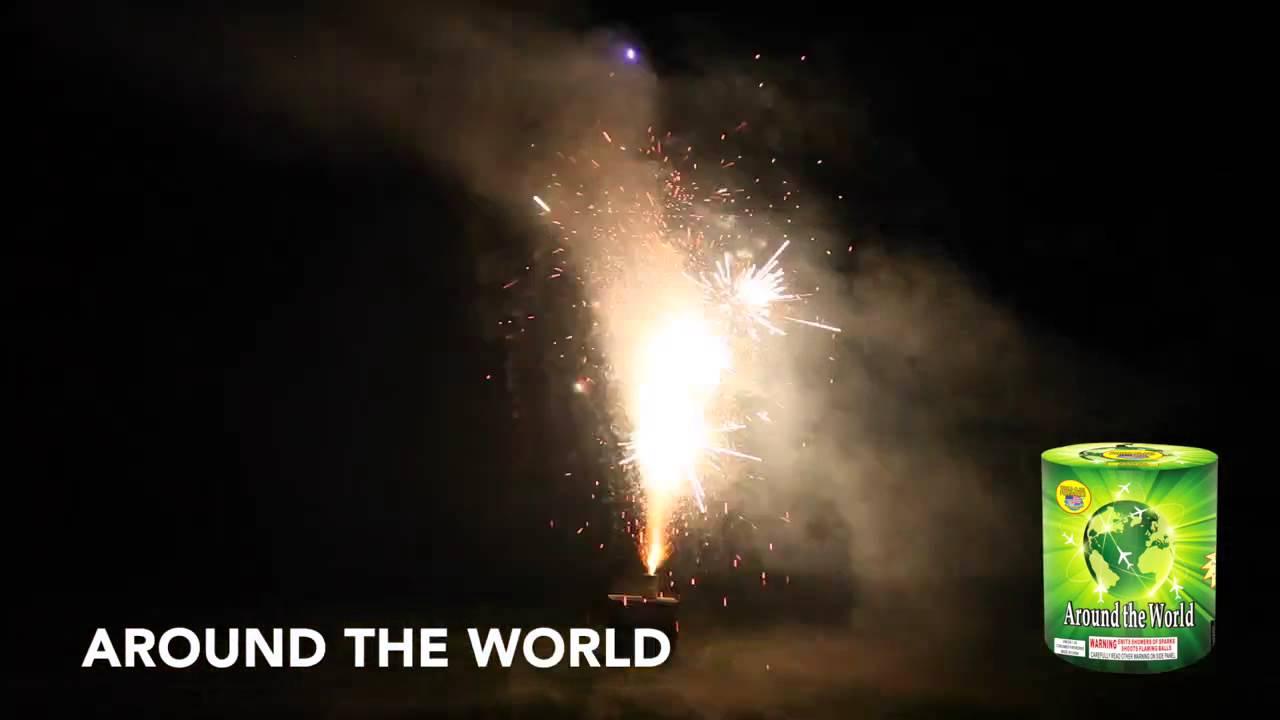 2015 AROUND THE WORLD - FOUNTAIN - WORLD CLASS FIREWORKS ...