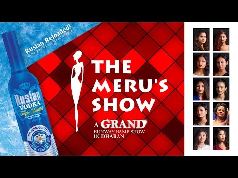 The Meru's Show - a grand runway rampshow in Dharan