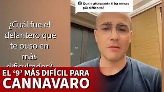 CANNAVARO y el DELANTERO MÁS DIFÍCIL que ha marcado | DIARIO AS