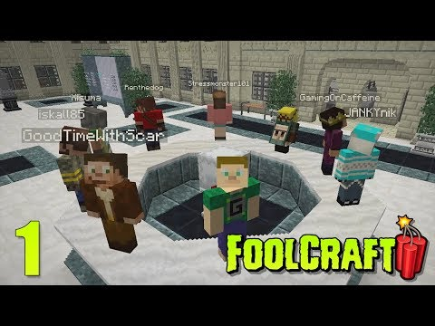 One of the Fools - Foolcraft 3 - Modded Minecraft - E01 (Minecraft Videos)