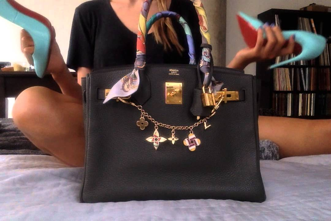 b367d15ddd8 A Review  What Fits in a Hermes Birkin 30 - YouTube