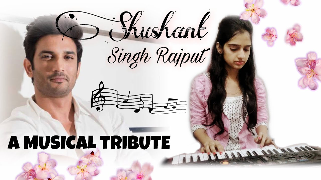 A Musical Tribute to SHUSHANT SINGH RAJPUT 💔 | Khairiyat ( Chhichhore ) | Female Version