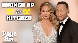 Chrissy Teigen played it cool to win John Legend's heart | Hooked Up to Hitched | Page Six