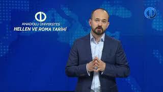 Hellen Ve Roma Tar H Unite 5 Konu Anlat M 1