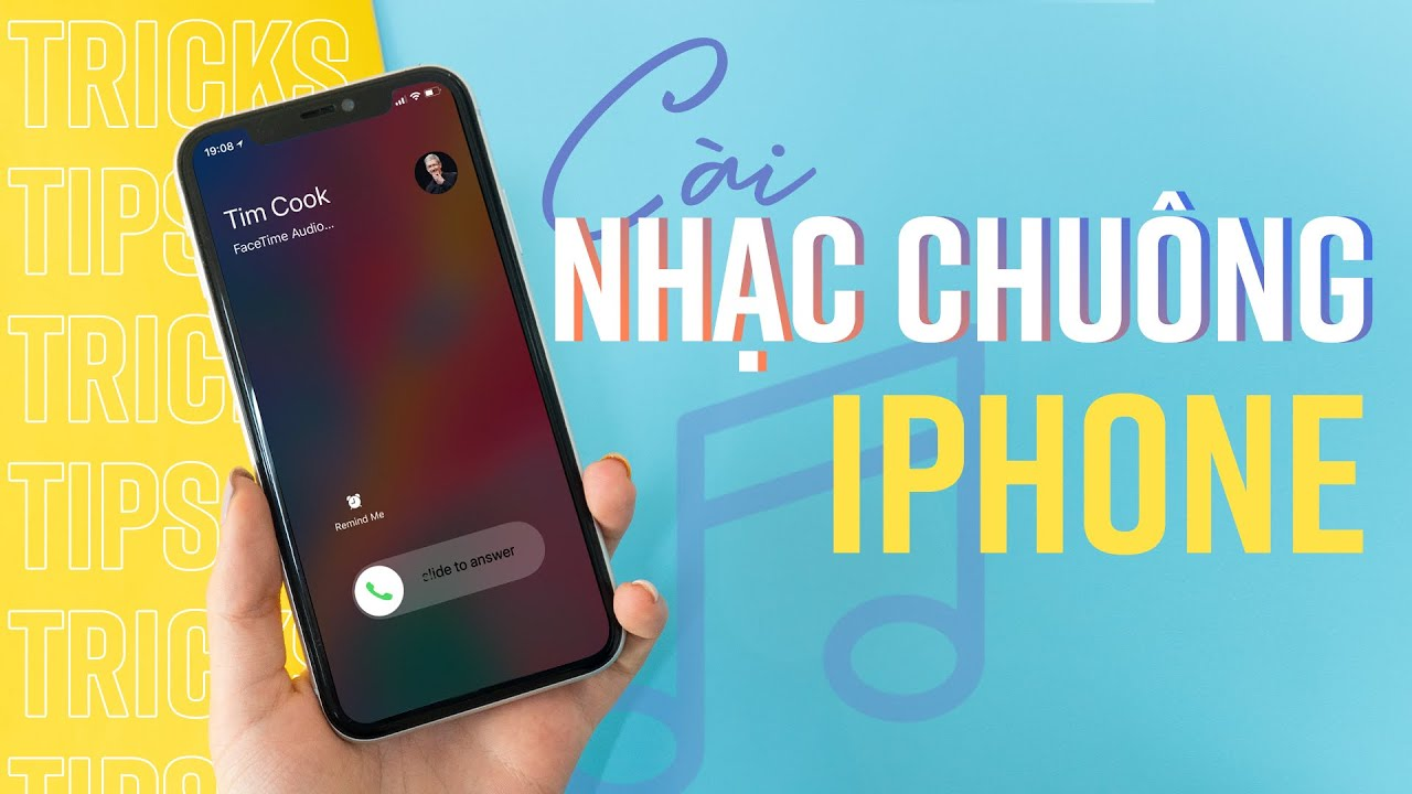 Cài nhạc chuông cho iPhone KHÔNG CẦN máy tính
