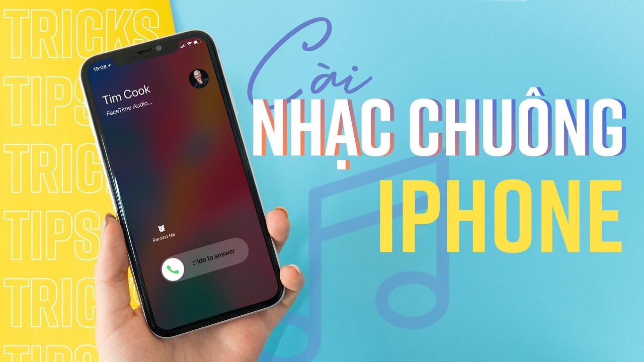 Cài nhạc chuông cho iPhone KHÔNG CẦN máy tính
