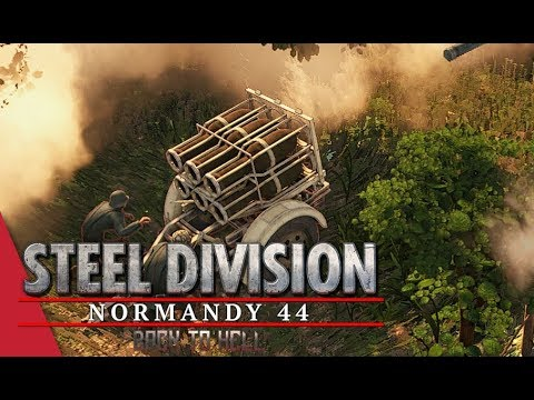 2nd APT Semi Final! Steel Division: Normandy 44 - Gal_Oneill vs Winters (Sainte-Mère-Église, 1v1)