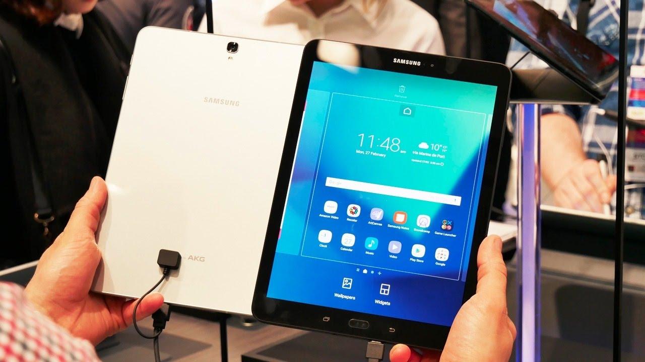Обзор плоского планшета Samsung Galaxy Tab S3