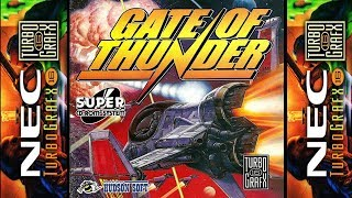 Gate Of Thunder - PCE Playthrough #32【Longplays Land】- Hardest Difficulty