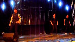 Optreden Dioni-Jurado (@officialdioni) Winterparade Tilburg 30-12-2012