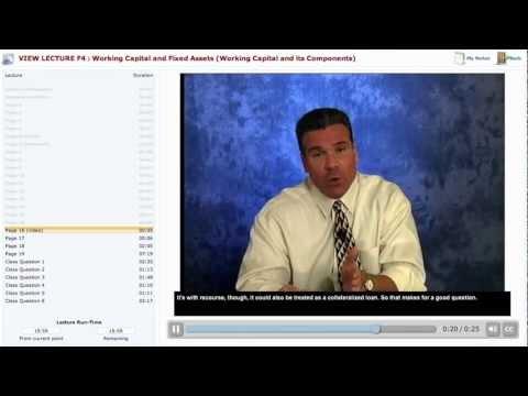 Becker CPA Exam Review Course Demo: Financial F4