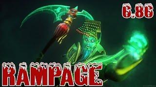 Dota 2 - Necrophos Rampage