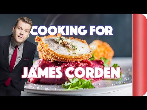 Cooking Chicken for James Corden | Step Up To The Plate
