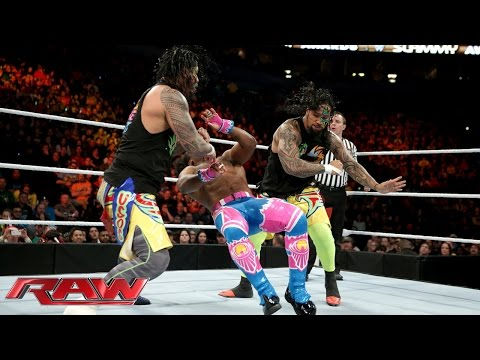 The Usos vs. The New Day - 2-on-3 Handicap Match:...