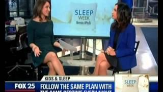 FOX25 Boston Interview: Katherine Eskovitz for Sleep Week