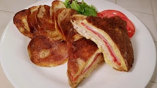 Monte Cristo (Grilled cheese on steroids)