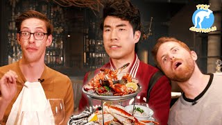 Download The Try Guys Eat $1,200 Of Gourmet Seafood • Try Australia Mp3 and Videos