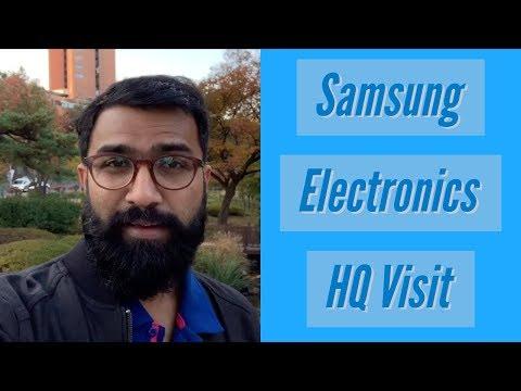 Samsung Electronics HQ Visit Highlights