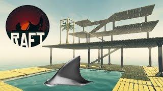 Nenažraný Žralok !!! - RAFT - Úžasná Survival hra - Nakashi [CZ]