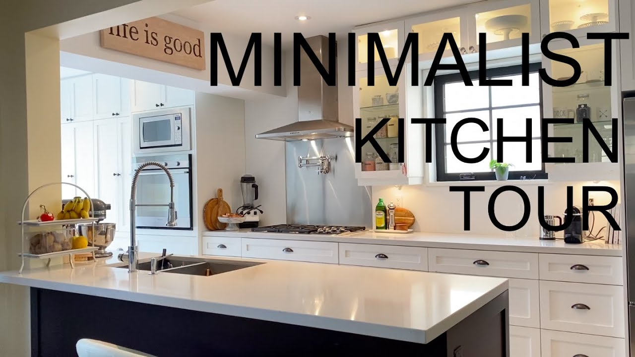 Minimalist Kitchen Tour   YouTube