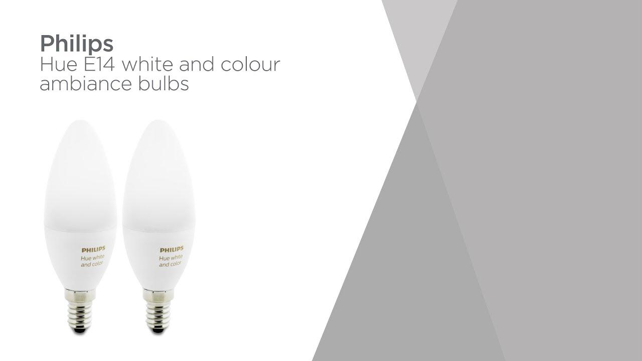 Philips Hue Lampen E14.Philips Hue White Colour Ambiance Wireless Bulb E14 Twin Product