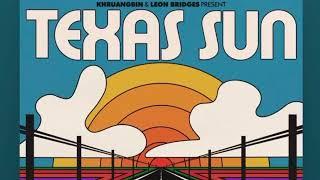 Gambar cover Leon Bridges & Khruangbin - Texas Sun